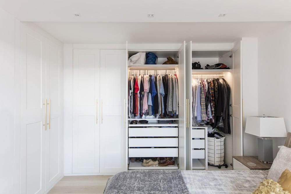 A hálószoba szekrény nélkülözhetetlen