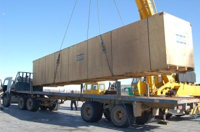 Túlsúlyos rakományok szállítása